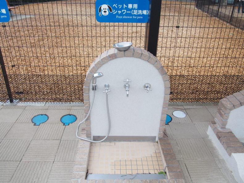 守谷SA下り ペット用シャワー