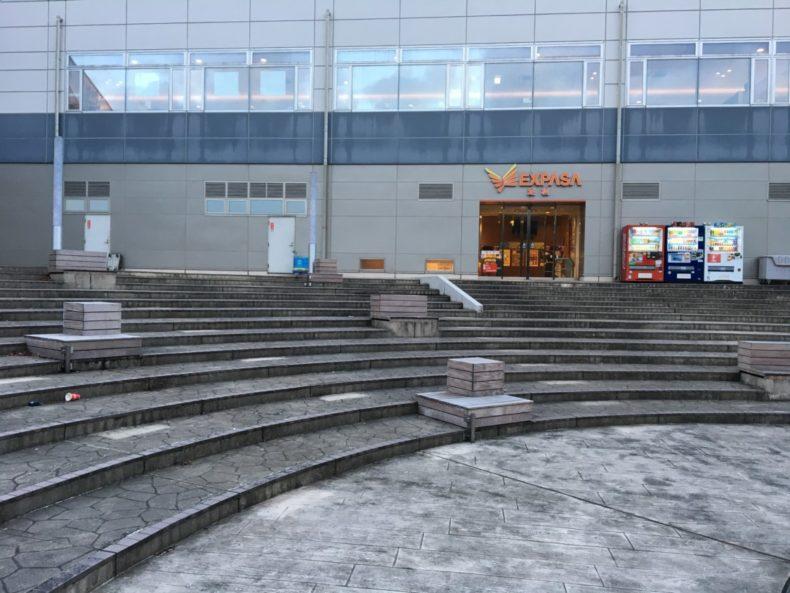 足柄SA下り 小型犬ドッグラン前の広場