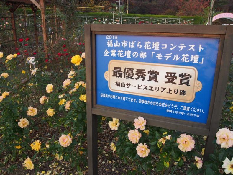 福山SA上り モデル花壇